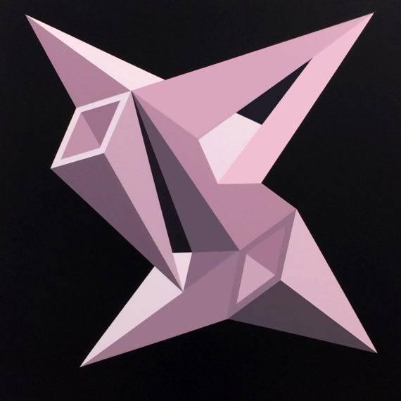 Perception #186, acrylic on canvas, 30 x 30, 4.2018
