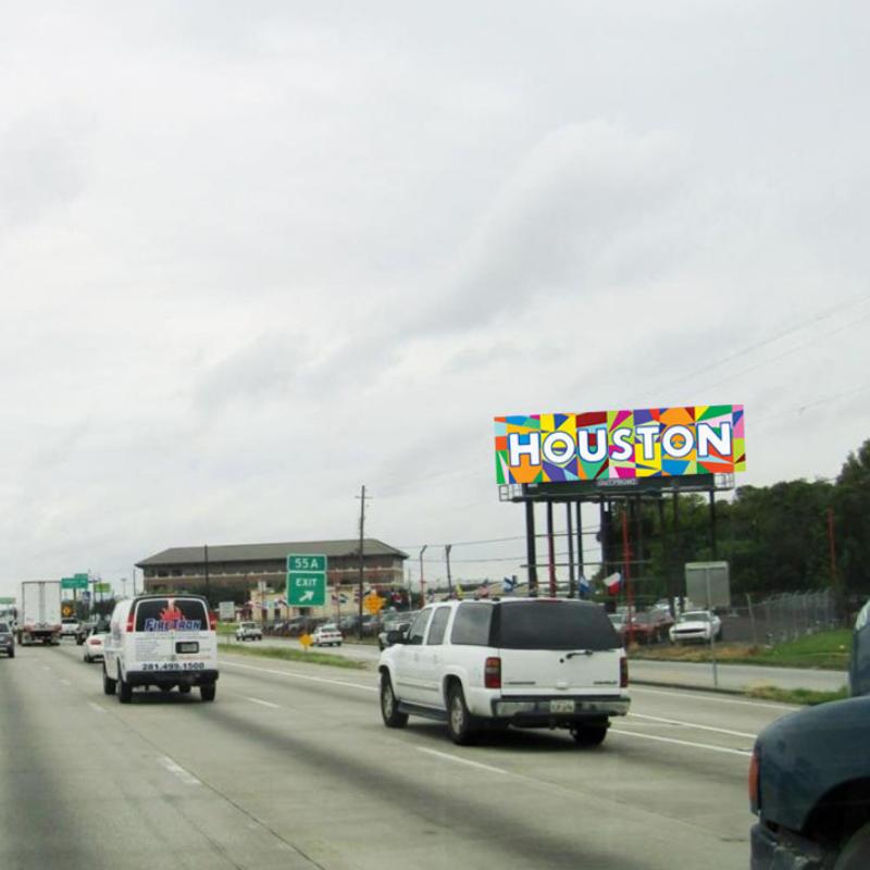 fariba abedin sky art billboard
